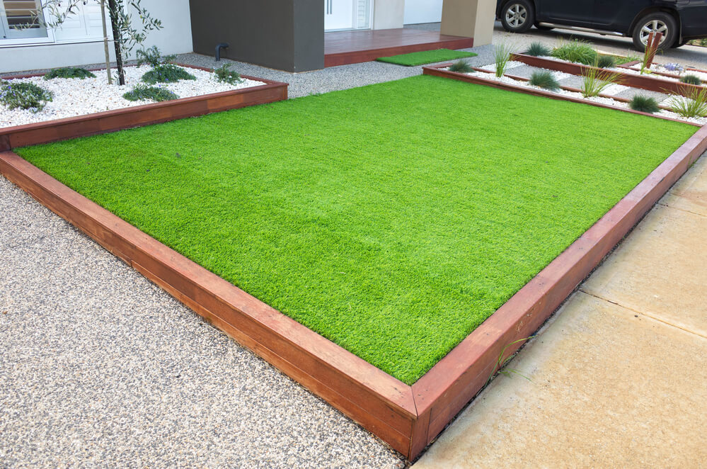 replacing your lawn with artificial grass