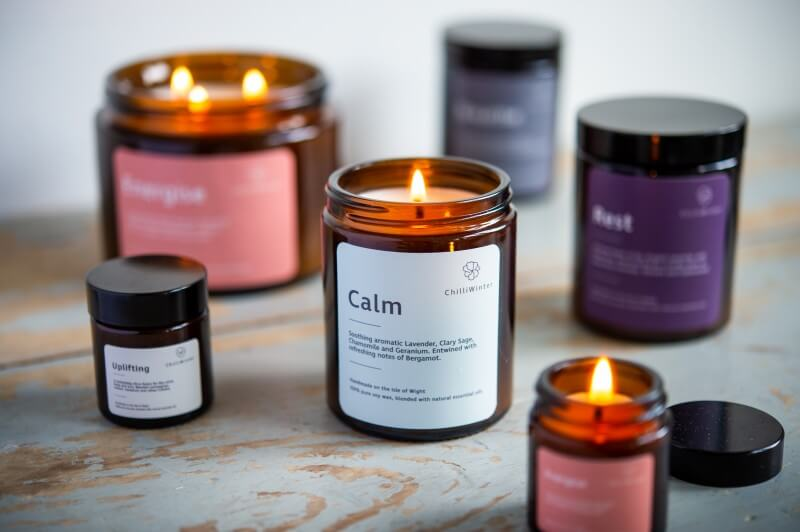 ChilliWinter Aromatherapy candles